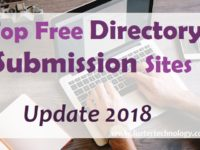 Free Directory Submission sites 2018